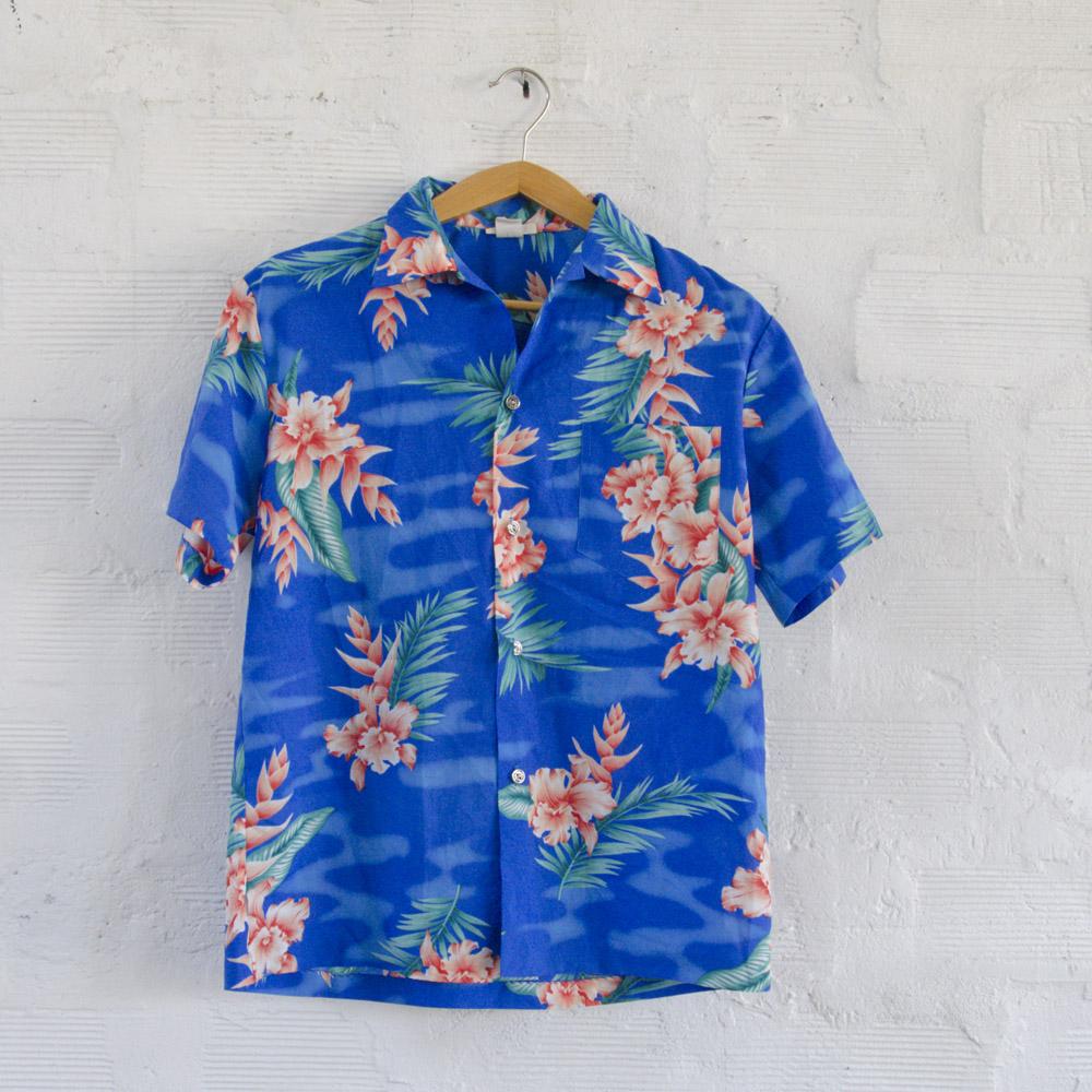 San Francisco 0b339 3b959 Camicia Hawaiana Vintage Made in Hawaii