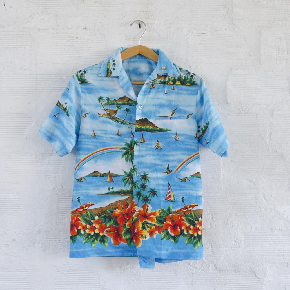 diversamente ccbe7 58fcd Camicia Hawaiana Vintage