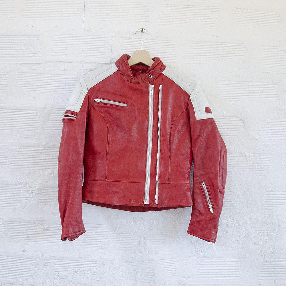 new styles a373c 9853e Giubbotto Pelle IXS