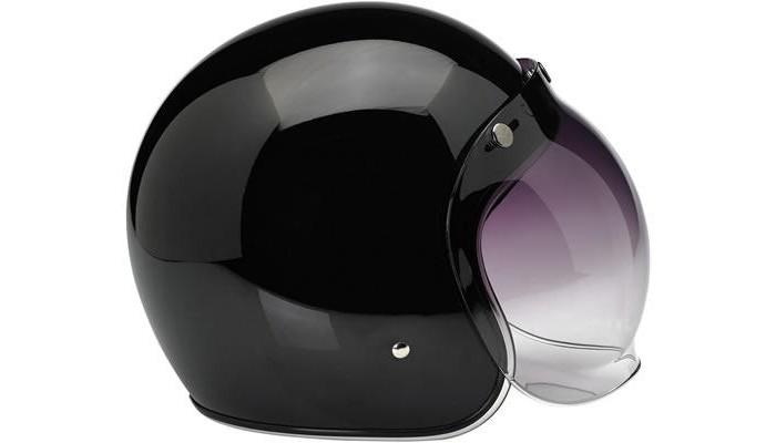 Casco Jet Biltwell Bonanza Gloss Black