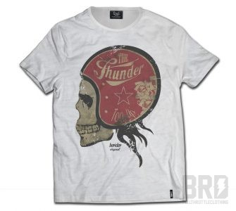T-shirt Slub Cafe Racer The Thunder