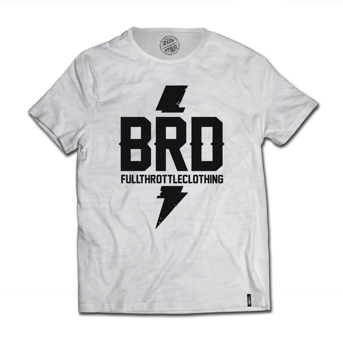 T-shirt Cafe Racer Berider Full Throttle
