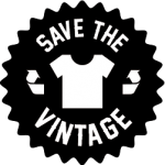 Save the vintage logo