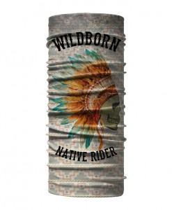 Bandana Tubolare Wildborn Native Rider