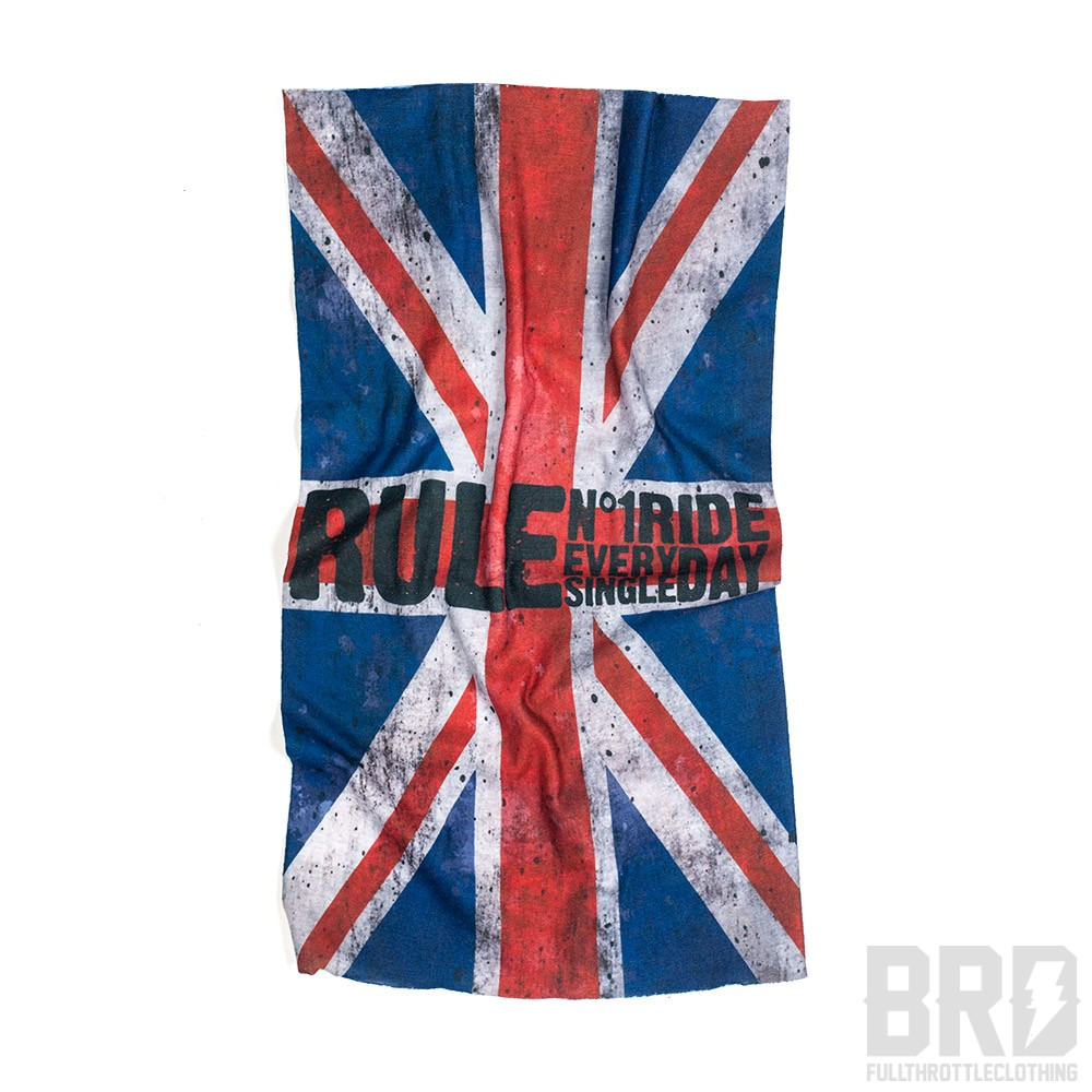 Bandana Tubolare Scaldacollo British Rule