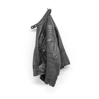 Giubbotto Moto Harro Vintage Grigio Motorcycle Leather Jacket