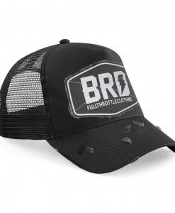 Trucker Cap BRD Fullthrottleclothing Black