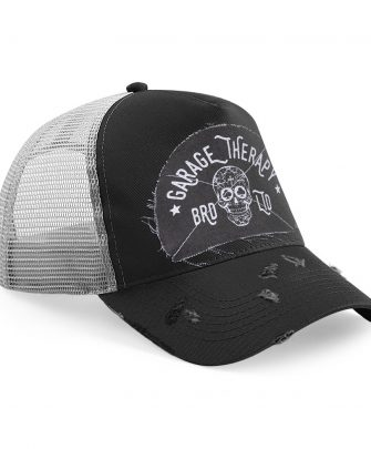 Trucker Cap Garage Therapy Grey/Black