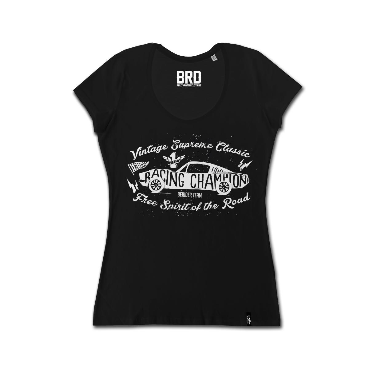 T-shirt Cafe Racer Donna Vintage Supreme Classic