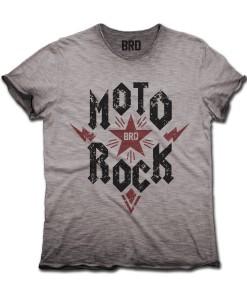 T-shirt Cafe Racer Motorock Grey