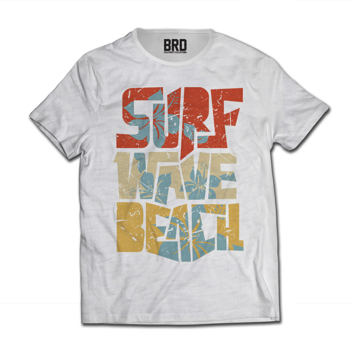 T-shirt Surf Wave Beach