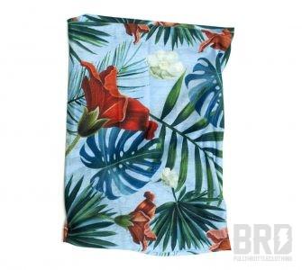 Scaldacollo Tubolare Hawaii Blu