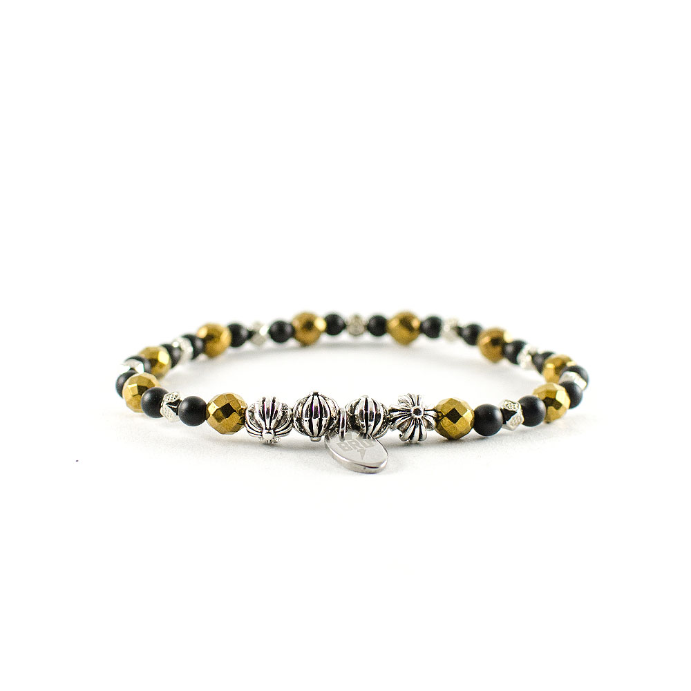 Gemstones Bracciale Onice Gold