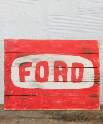 Ford Wood Sign
