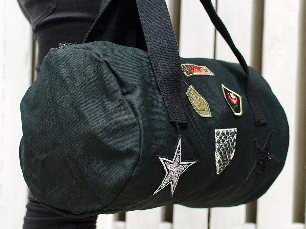 Canvas bag BRD Army Star