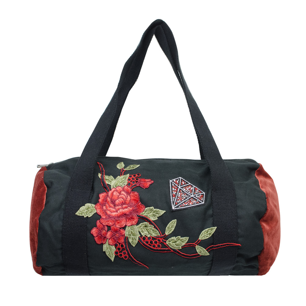 Canvas Bag BRD Red Rose