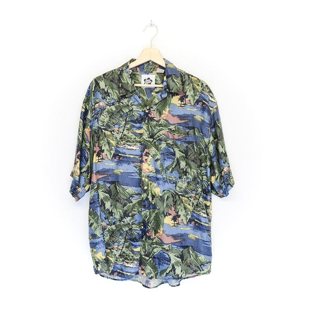 Camicia Hawaiana Vintage Aloha Aina