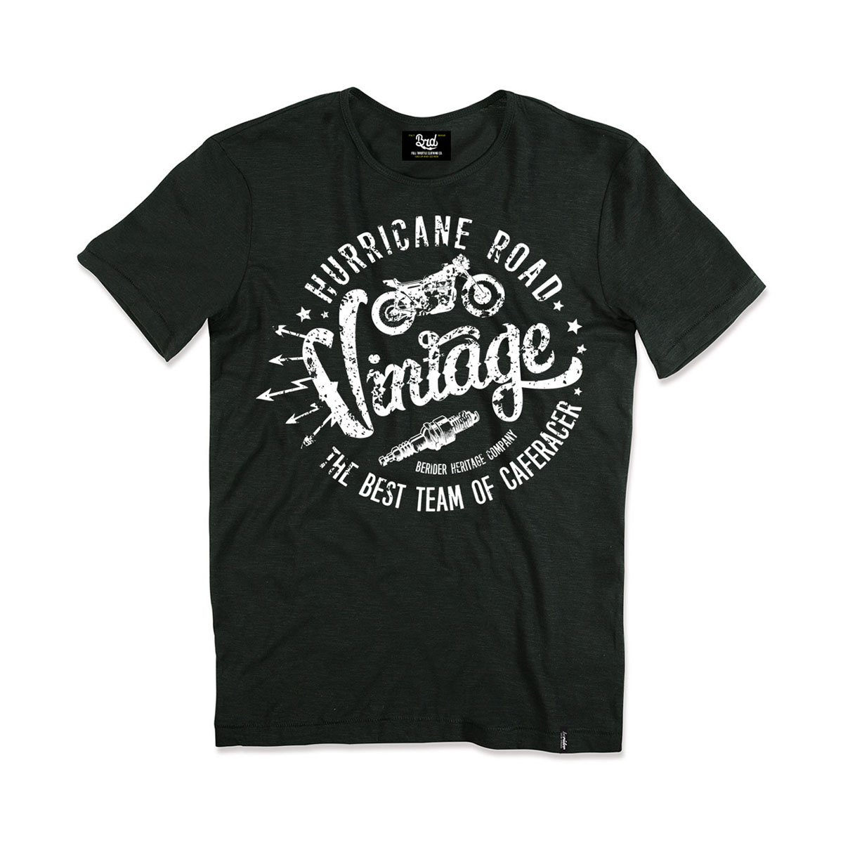 T-shirt Vintage Hurricane Road