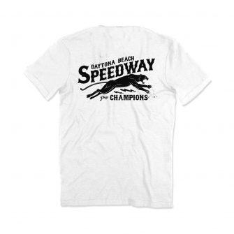 T-shirt Vintage Daytona Speedway White