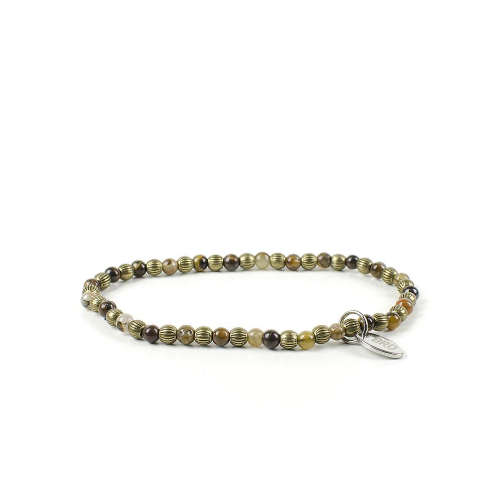 Gemstones Bracciale Pietre Dure Agata Gold Metal