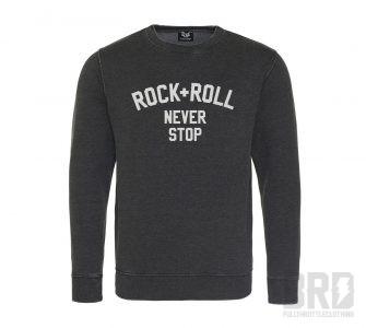 Felpa BRD® Rock+Roll Never Stop
