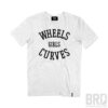 T-shirt Vintage Wheels Girls Curves