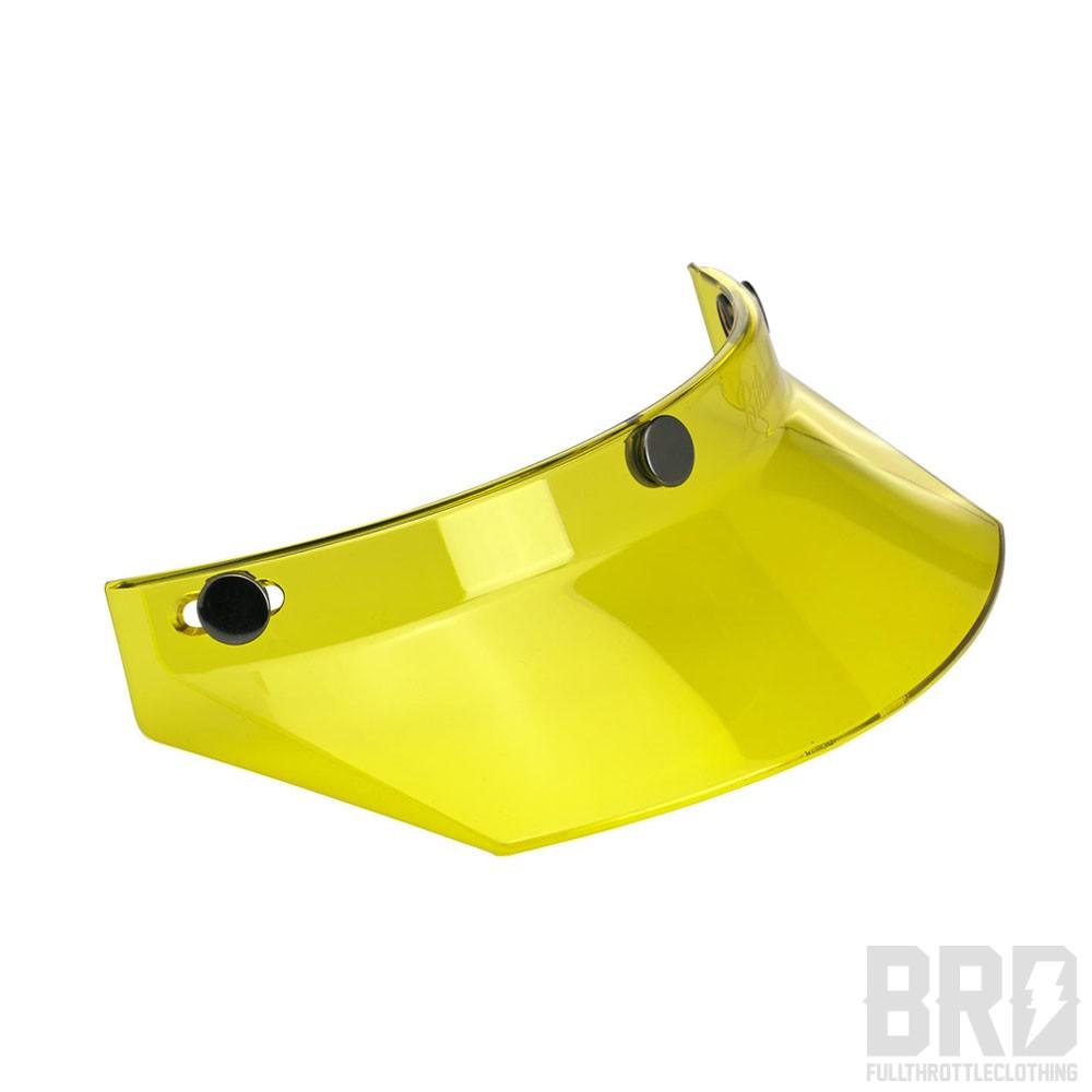 Visierino Motocross Giallo Yellow
