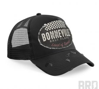 Cappellino Trucker Cap Bonneville Land of Speed Black