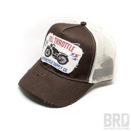 Cappellino Vintage Trucker Cap Full Throttle