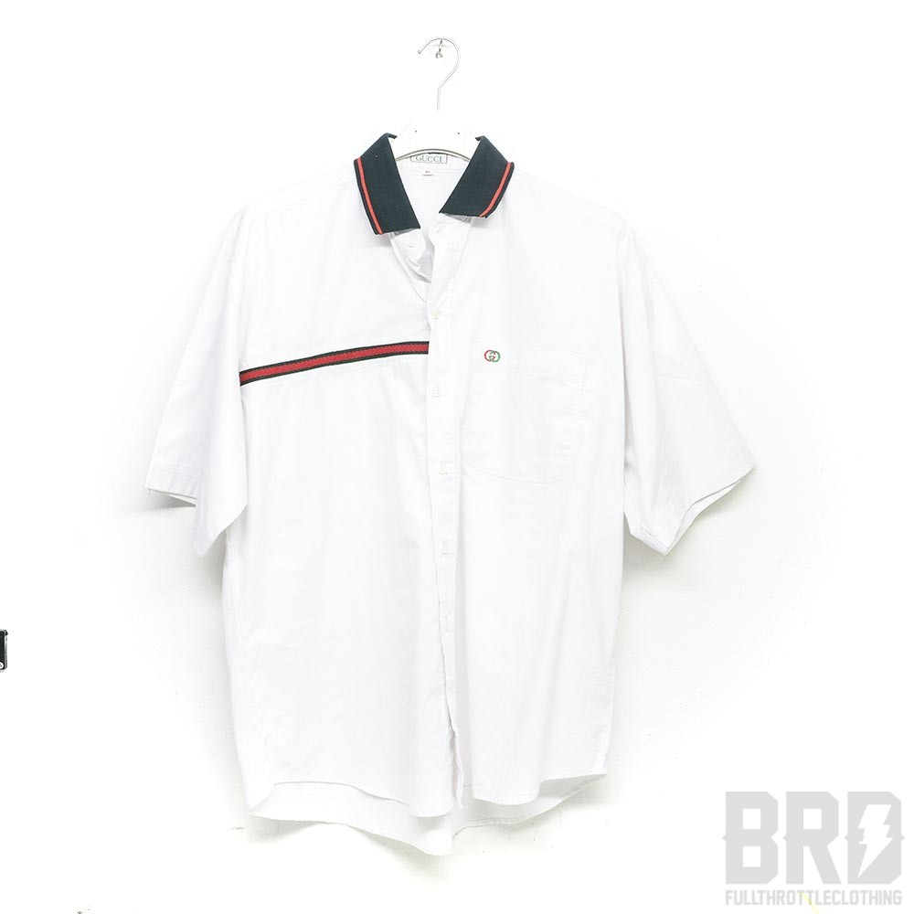 online store 6b73f efd3e Camicia Hawaiana Vintage Gucci