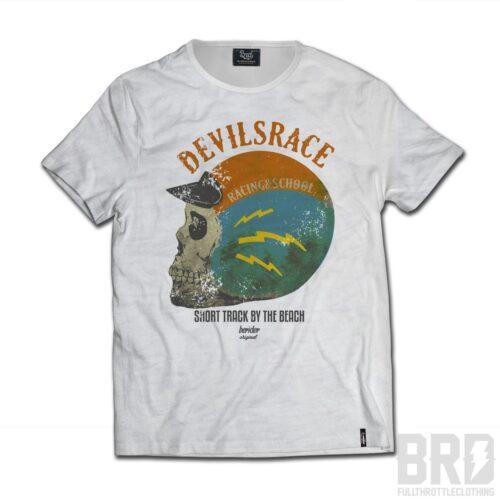 T-shirt Slub Cafè Racer Devilsrace