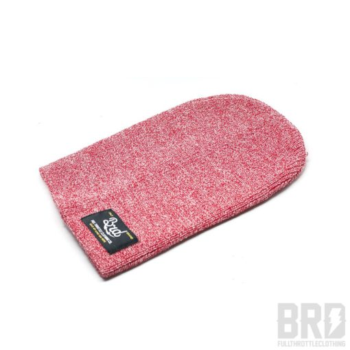 Heritage Beanie BRD Gas Up and Go Ride Light Red