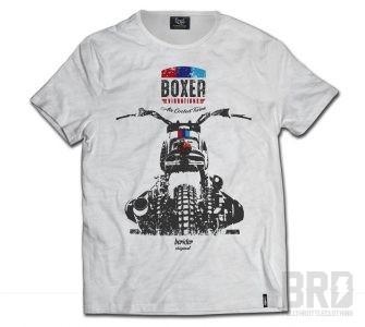 T-shirt Bmw Boxer Vibrations Vintage