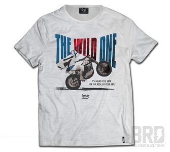 T-shirt Cafe The Wild One