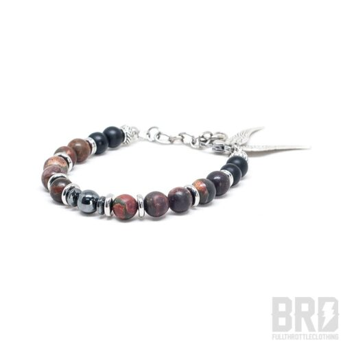 Bracciale pietre dure Freedom Dark Blood