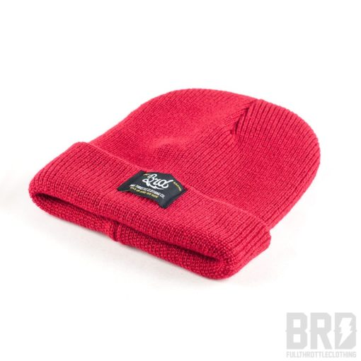 Heritage Beanie BRD Gas Up and Go Ride Full Red