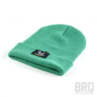 Heritage Beanie BRD Gas Up and Go Ride Full Green
