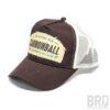 Cappellino Vintage Trucker Cap Cannonbal Illegal Race Brown