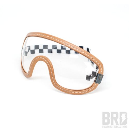 Occhiali Vintage Marrone Trasparente