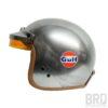 Casco Jet Gulf Alluminio Vintage