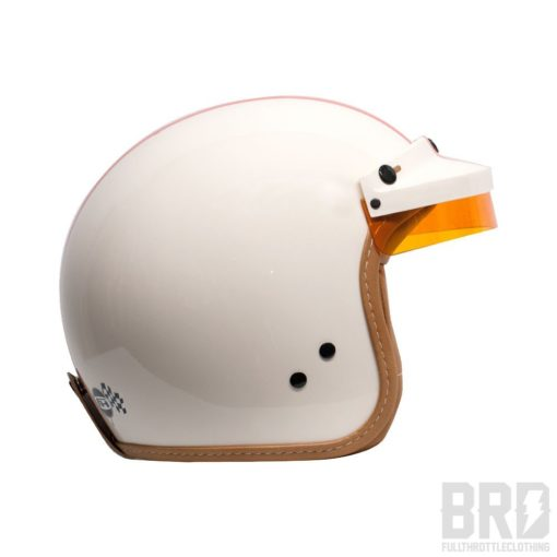 Casco Jet Steve Mc Queen Panna