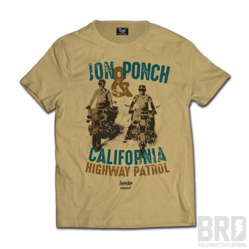 T-shirt John & Ponch California Highway Patrol