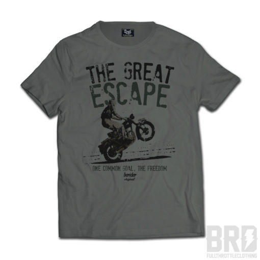 T-SHIRT Great Escape Verde Militare