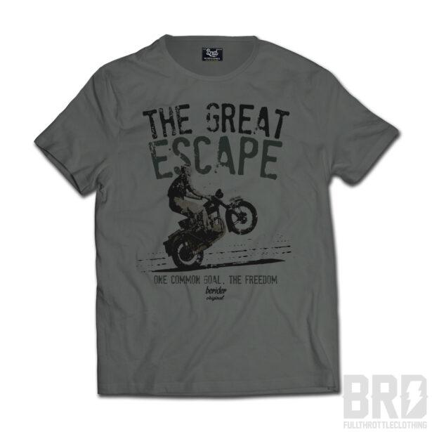 T-SHIRT Great Escape Verde Militare