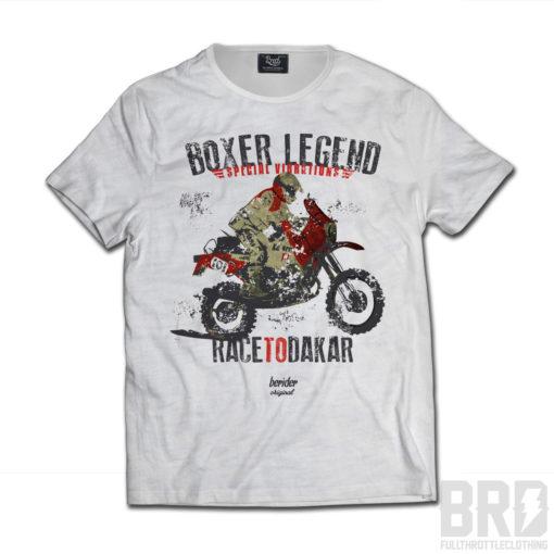 T-shirt Boxer Legend Race to Dakar