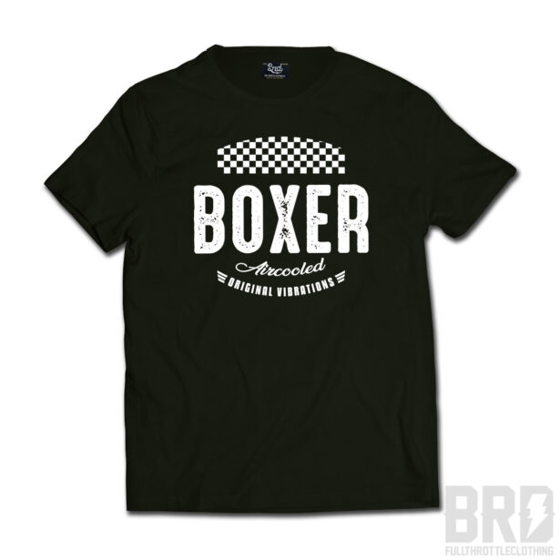 T-shirt Boxer Vibrations Black Edition