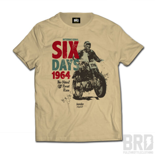 T-shirt Six Days 1964