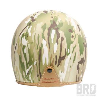 Casco Demi Jet 3 Bottoni Camouflage