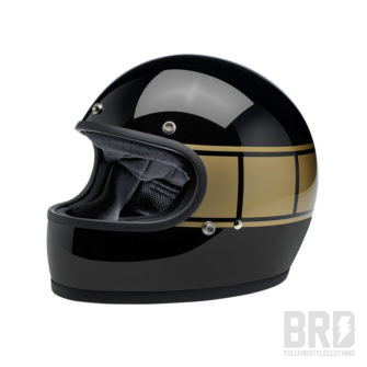 Casco Biltwell Gringo Gloss Black Holeshot