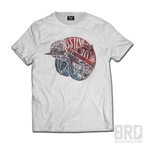 T-shirt Helmet Steve Legend